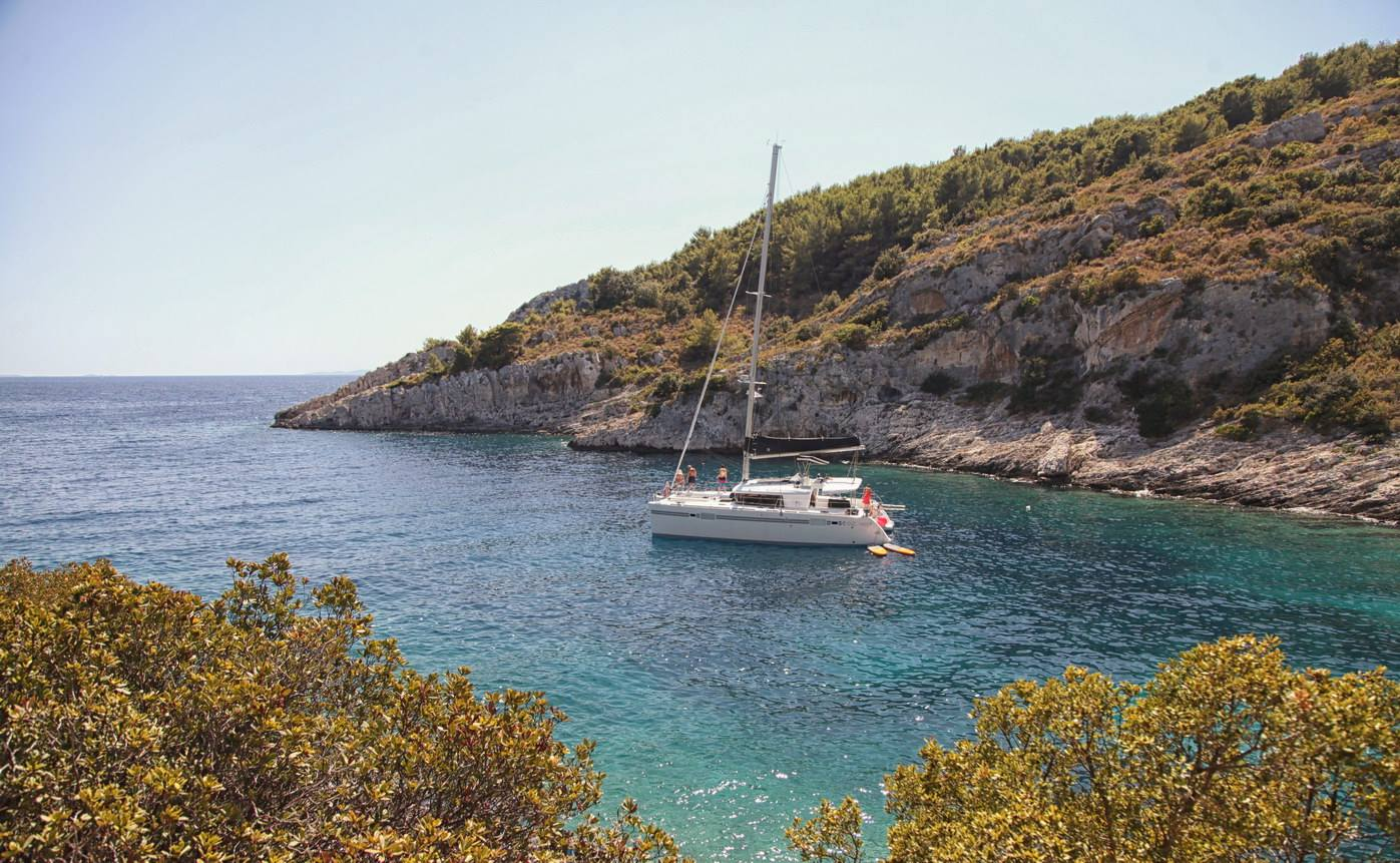 Chorvatsko dovolená na lodi